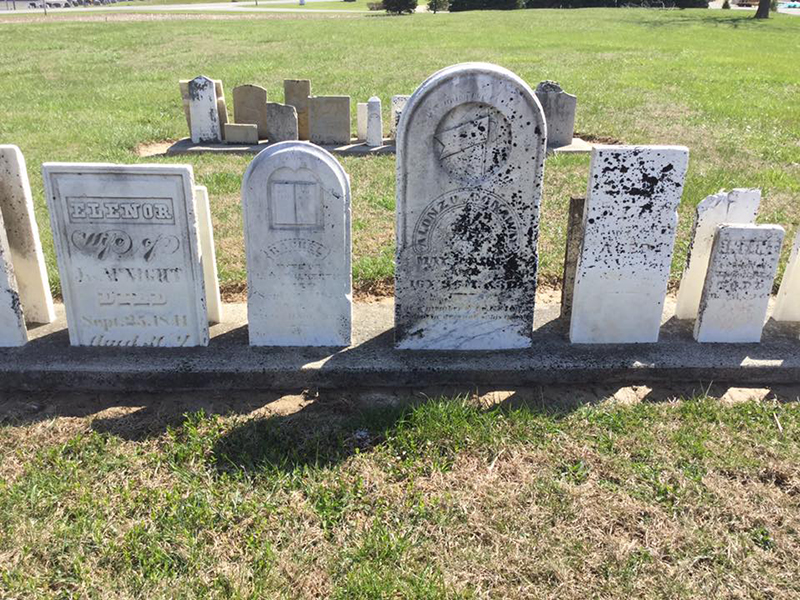 Don T Use Concrete Cemetery Conservators For United Standards