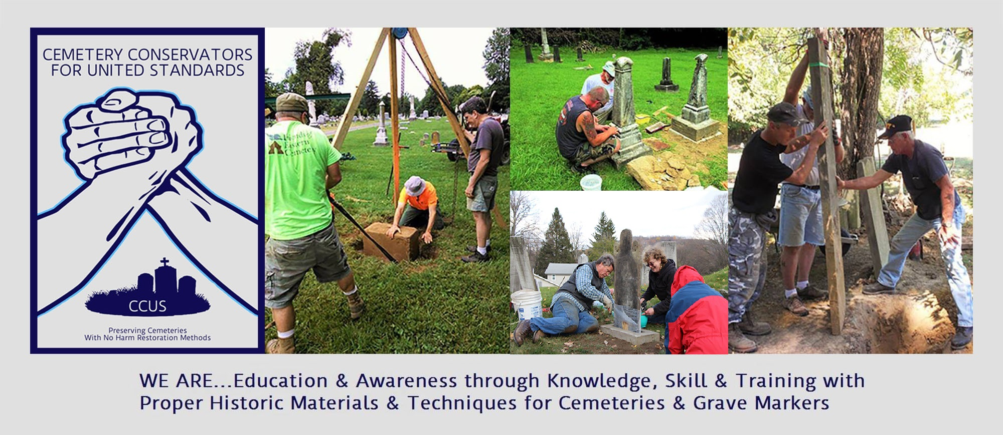 Cemetery Conservators for United Standards